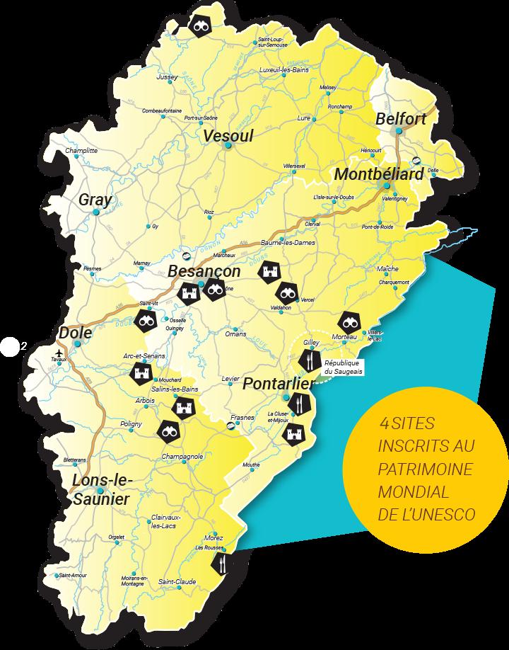 3 Sites Inscrits Au Patrimoine Mondial De Lunesco